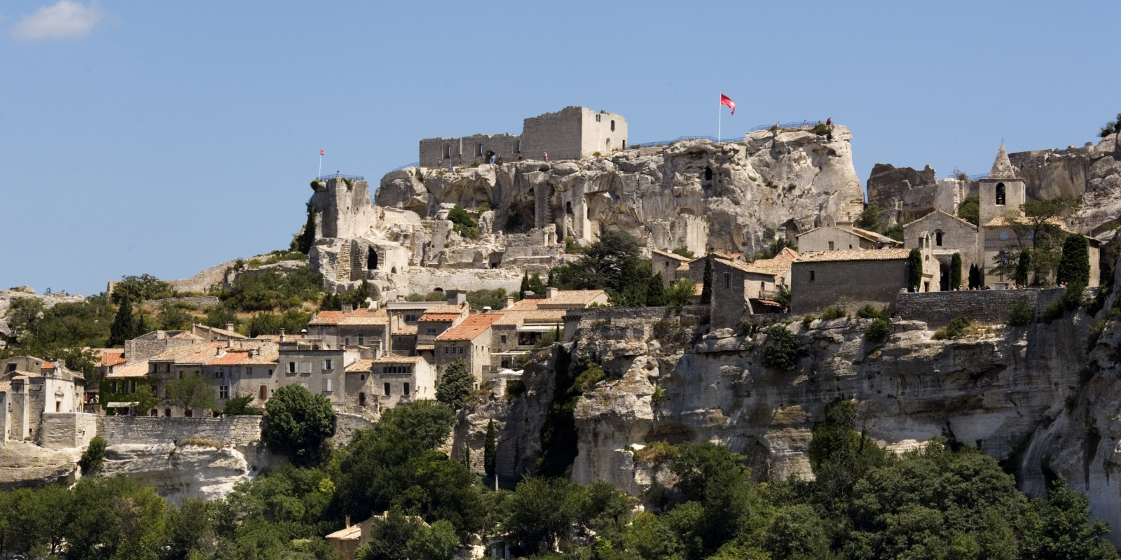 Castle of Les Baux-de-Provence